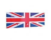 Garderobenleiste mit Union Jack