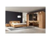 Schlafzimmer Komplettset aus Erle Massivholz hochwertig (4-teilig)
