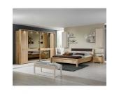Massivholz-Schlafzimmer Einrichtung aus Eiche hochwertig (4-teilig)