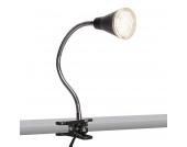 Klemmlampe Funnel LED schwarz
