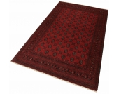 Parwis Orient-Teppich »Afghan Bouchara«, rot, 100x150 cm