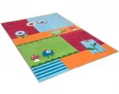 THEKO® Kinder-Teppich »Leben im Garten« »Leben im Garten«, bunt, 120x180 cm