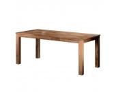 Massivholztisch Cowjoy - Mangobaum Massivholz - Shabby Chic - 001 - Breite: 140 cm, furnlab