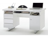 Computertisch mit hochglanz Lack 140 cm breit