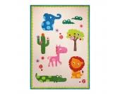 Kinderteppich Zoo - Beige - Maße: 140 x 200 cm, Esprit Home