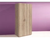 Jumbo Möbel Kleiderschrank BASE in Eiche Sonoma B: 81 cm