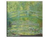 Leinwandbild, Home affaire, »Claude Monet, Seerosenteich und japanische Brücke«, in 2 Größen
