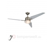 Deckenventilator Eco Aviatos silber 132 cm