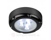 LED-Nachtlicht Florenz mit Batterien, schwarz