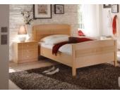 Jumbo Möbel Seniorenbett / Einzelbett 100 x 200 cm CURANUM in Buche Design