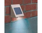 Shine Solar Wandstrahler Edelstahl LED