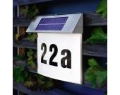Vision Solar-Design-Hausnummernleuchte