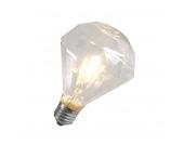 Spar- Halogenlampe Diamant E27 230V 42W