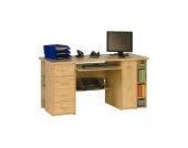Computer-Schreibtisch in Ahornfarben
