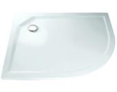 HSK Acryl-Duschwanne Viertelkreis asymmetrisch 75x90 super-flach