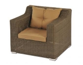 Sessel inkl. Polster Laguna aus Polyrattan