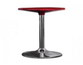 Tisch Style 1, metallic rot