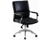 Bürostuhl / Chefsessel BRUNELLO 10 Kunstleder schwarz hjh OFFICE