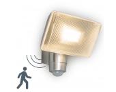 LED Strahler VAP Delux mit Bewegungsmelder Aluminium